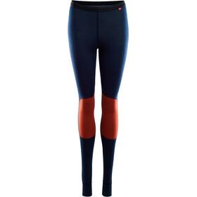 Aclima LightWool Reinforced Leggings Femme, navy blazer/red ochre